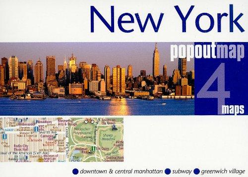 Read Online New York popout®map (Popout Map) pdf epub