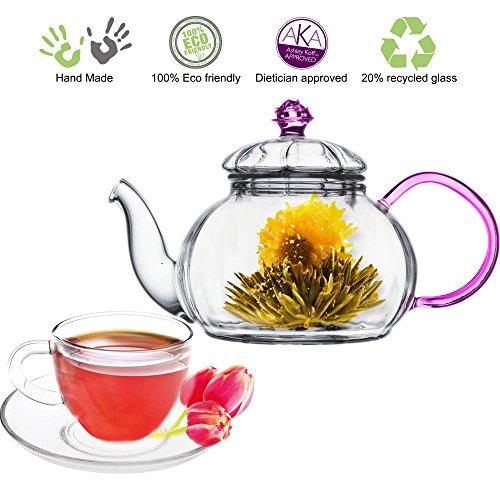 Tea Beyond GFS2013 Juliet Glass Teapot Set
