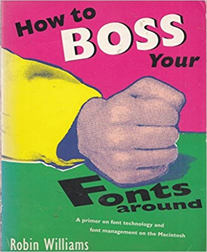 Book How to Boss Your Fonts Around
