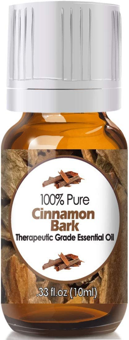 Cinnamon Bark Essential Oil for Diffuser & Reed Diffusers (100% Pure Essential Oil) 10ml