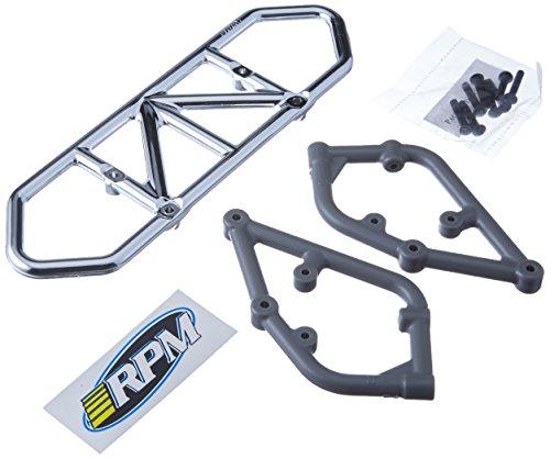 - RPM Slash 2WD Rear Bumper, Chrome