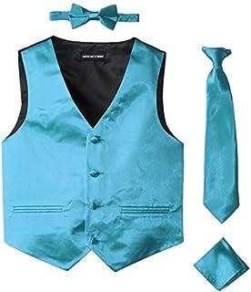 amazon com american exchange mens watch american exchange watches american exchange little boys s satin 4 piece vest set 2t turquoise