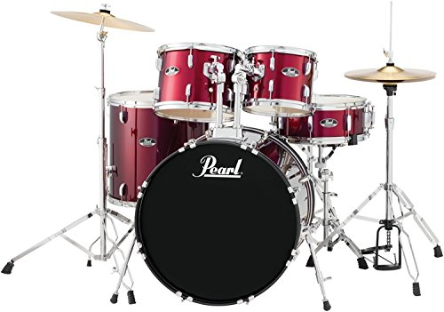 pearl-roadshow-rs525sc-c91-5-piece-drum-set-wine-red