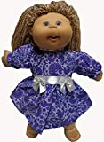 Fits Cabbage Patch Doll And Baby Doll Pretty Lavender and Purple Dress