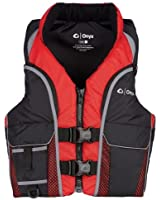 Onyx Outdoor Adults' Select Vest Life Jacket XX-Large Red /Gray /Black 117200-100-060-15