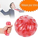 Stress Relief Ball,Nesee Spongy Bead Stress Ball Toy...