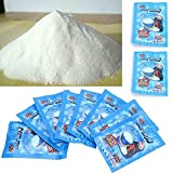 Withpal Artificial Snow Instant Snow Powder Slime - Make 2 Gallons Instant Snow Slime Supplies Cloud Slime Decorations(10 Pcs)