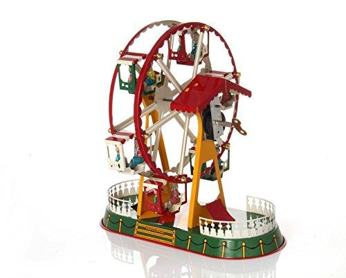 (Ferris Wheel with Clockwork Drive - Mechanical Tin)