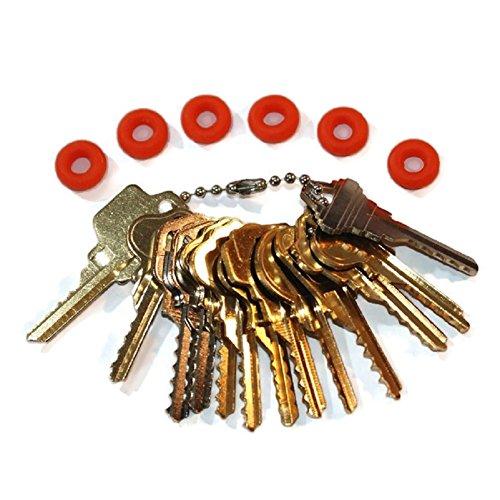MSPowerstrange Professional 13 Keys Depth Key Set Residential with Bump Rings