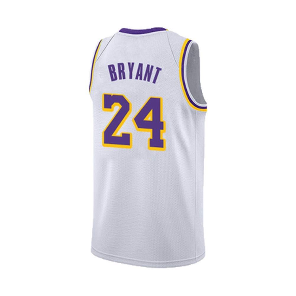 HS-QIAN1 24# Bryant Lakers Camiseta de Baloncesto Camiseta sin ...