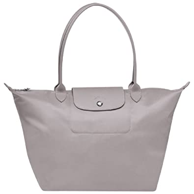 Longchamp Le Pliage Neo Grey Tote Handbag  Amazon.co.uk  Shoes   Bags ead69c3f304d5