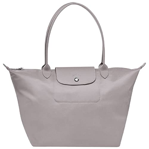 Longchamp Le Pliage Neo Grey Tote Handbag: Amazon.co.uk