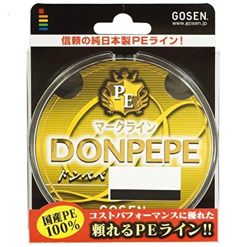 ゴーセン(GOSEN) ライン PEドンペペ 300M 0.8号 GB03008の商品画像