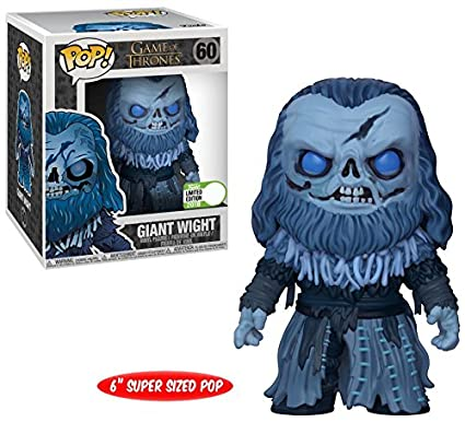 Funko Pop Game Of Thrones Giant Wight 6 Inch Vinyl Figure Eccc 2018 Limited Edition
