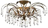 Kathy Ireland 21'' Wide French Garden Ceiling Light Fixture