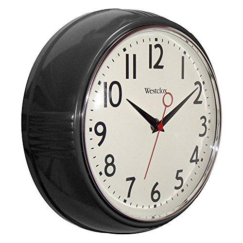Westclox 9.5 in. 1950 Retro Wall Clock
