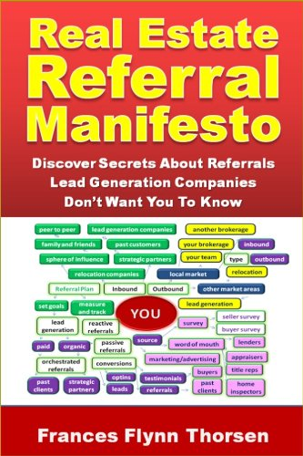 Real Estate Referral Manifesto