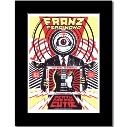 Franz Ferdinand - Sacramento Ca 2006 Mini Poster - for sale  Delivered anywhere in Canada