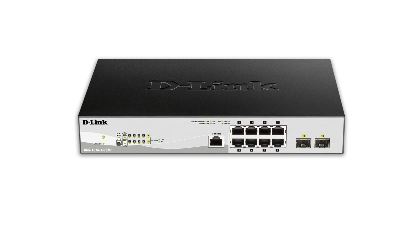 D-Link 10/100/1000BASE-T PoE + 2 1G SFP Ports L2 Management Switch by D-Link