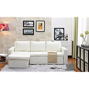 Amazon Com Georgetown Bi Cast Leather 2 Pieces Sectional