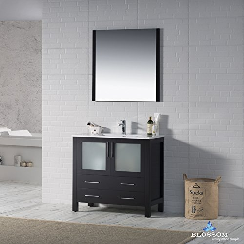 BLOSSOM 001-36-02 Sydney 36'' Vanity Set with Mirror Espresso
