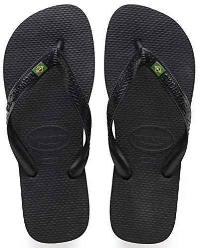 Flops Brasil Femmes flip Summer Unisexe Havaianas Hommes Noir Beach 8wn61