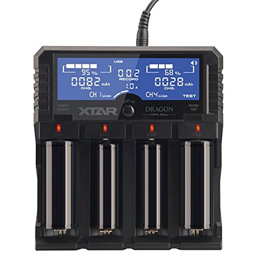 Xtar DRAGON VP4 Plus -4 Port Charger