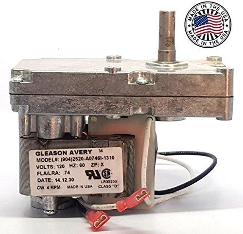 pellet stove auger motor 4 rpm - 1