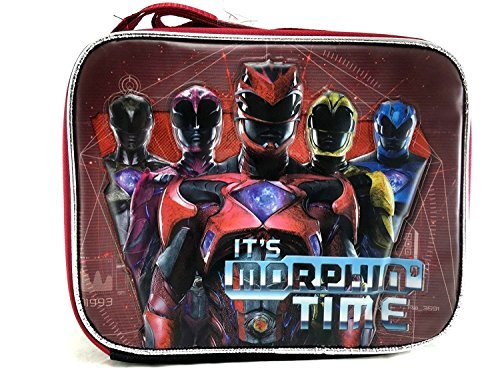Saban's Power Ranger It's Morphin Time Insulated Lunch Bag