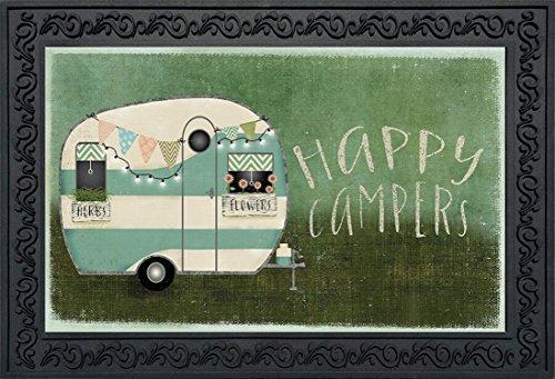 Happy Campers Summer Doormat Indoor Outdoor RV Camping 18