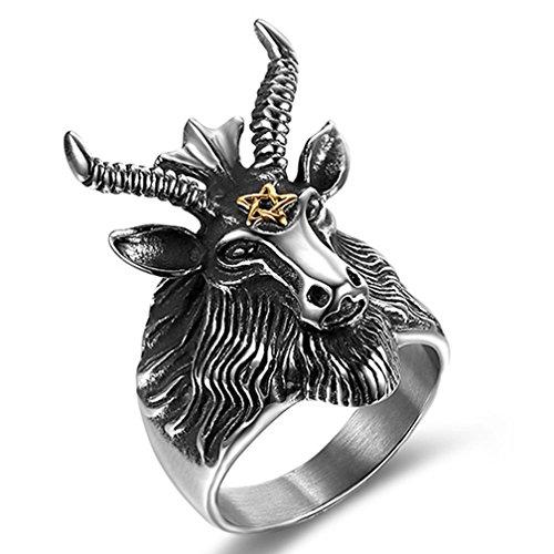 goat head ring - 6