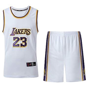 HANGESS Camiseta de Baloncesto de Los Hombres Lakers # 23 ...