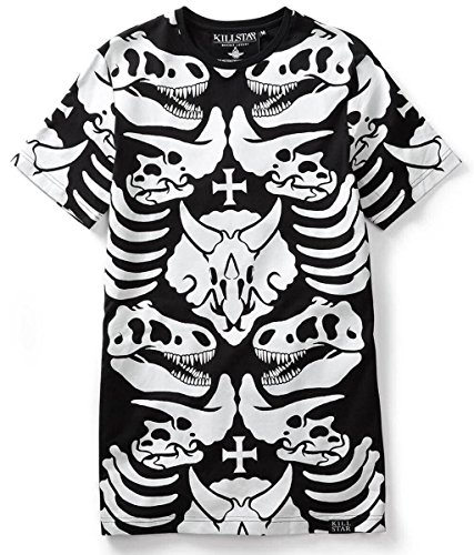 T-Shirt (Unisex) KILLSTAR - Dino Black KIL015