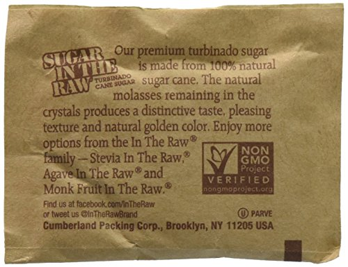 Sugar in the Raw / Raw Sugar Natural Cane Turbinado from Hawaii (750 count) by Sugar in the Raw (Image #1)