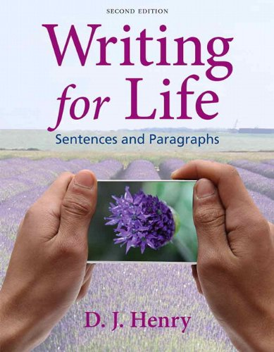 Writing for Life: Sentences and Paragraphs with MyWritingLab with eText -- Access Card Package (2nd Edition)