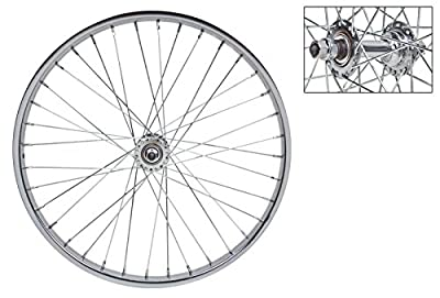 Wheel Master Front Bicycle Wheel 20 x 1.75 36H, Steel, Bolt On, Silver