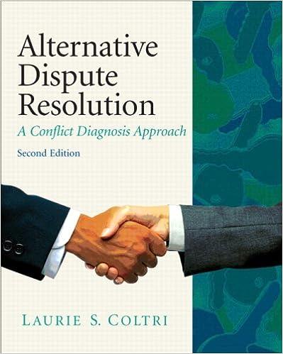coltri alternat dispute resoluti 2 2nd edition laurie s coltri