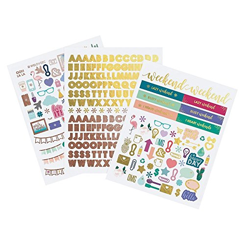 Erin Condren Alphabets & Illustrations Sticker Pack