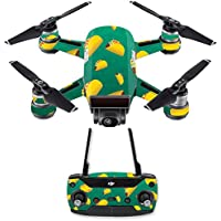 Skin for DJI Spark Mini Drone Combo - Tacos| MightySkins Protective, Durable, and Unique Vinyl Decal wrap cover | Easy To Apply, Remove, and Change Styles | Made in the USA