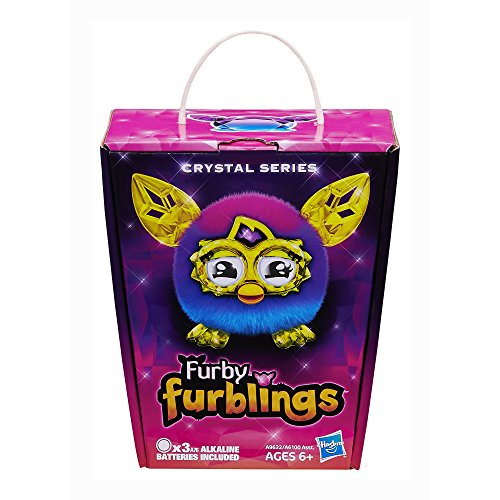 Furby Furblings Creature Plush, Pink/Blue by Furby (Image #1)