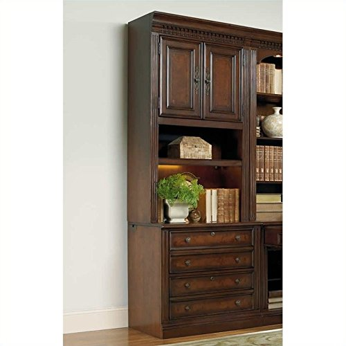 European Renaissance II Lateral File and Hutch in Cherry