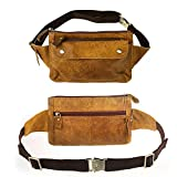 Travables TR-W03 Genuine Leather Waist Bag Fanny Pack