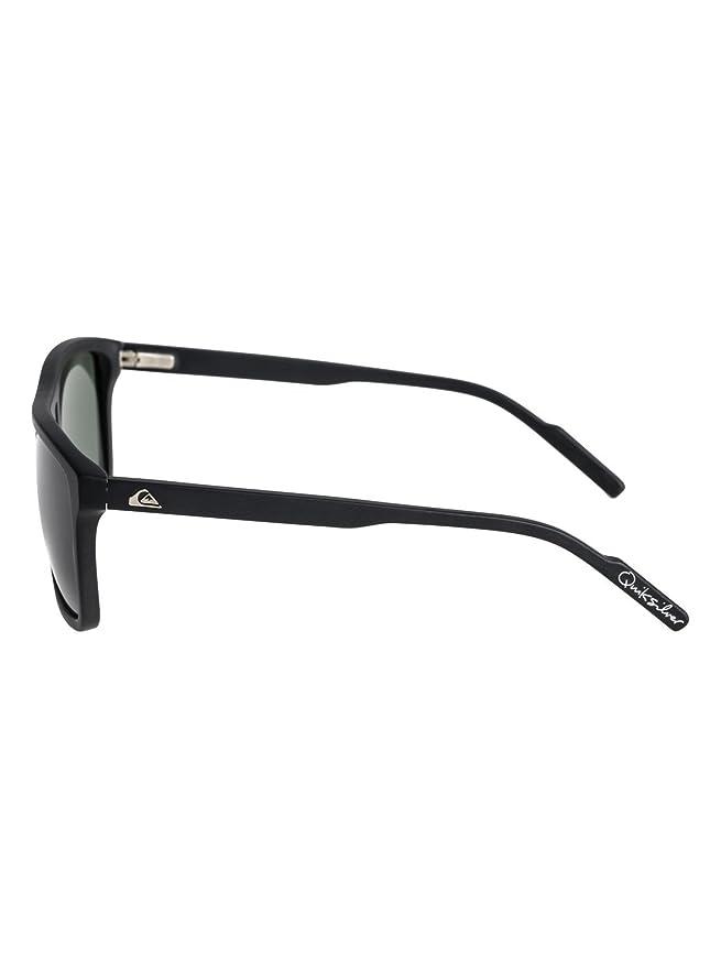 Amazon.com: Quiksilver Brigade Sunglasses - Matte Black ...