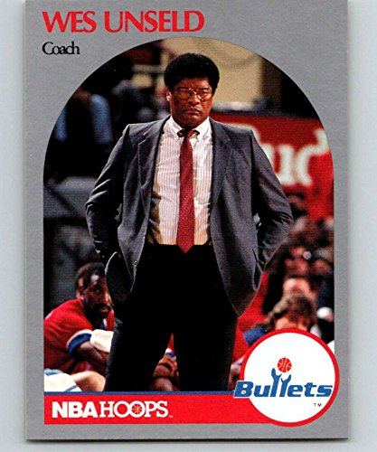 (1990-91 Hoops #331 Wes Unseld Bullets CO NBA Basketball)