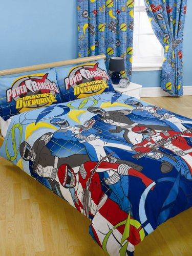 Power Rangers Movie Power Rangers /'Block/' single Duvet Cover /& Pillowcase Set