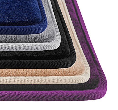 Genteele Memory Foam Bath Mat Non Slip Absorbent AND BEST