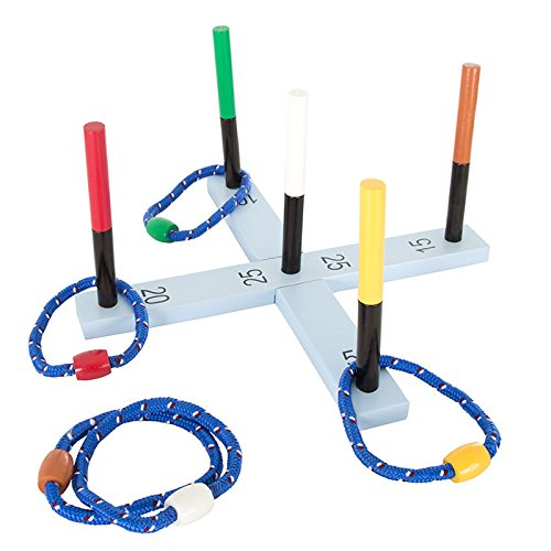 Trademark Global Rope Ring Toss Game by Hey! Play!