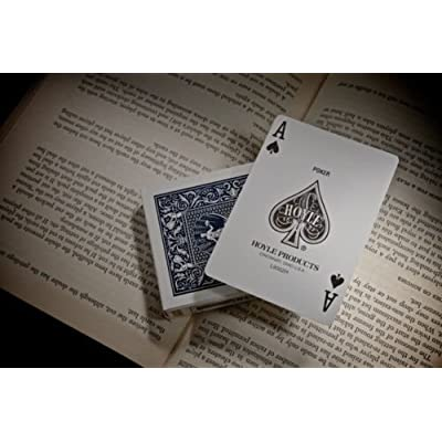 Hoyle Poker Size Playing Cards (Pack of 2): Toys & Games