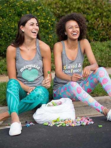 Women's Mermaid Leggings - Mermaid Halloween Costume Tights Female - http://coolthings.us