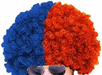 Paper Magic University Of Florida Wig, Blue/Orange, One Size